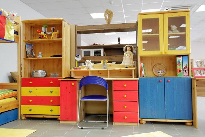 fenyő íróasztal gyerek