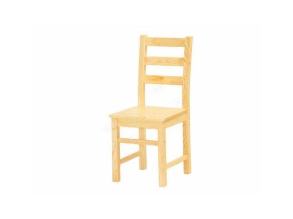 Natúr fenyő szék lakkozott