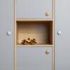 Colette szekrény relax grey részlet