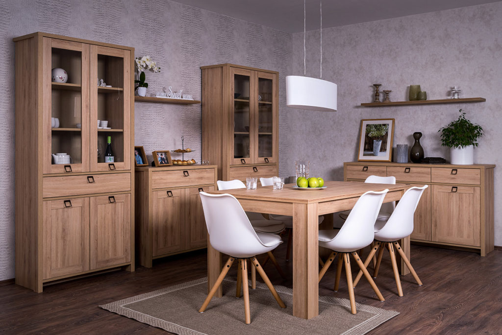 Farmer elemes bútorcsalád (nappali, hálószoba, étkező)