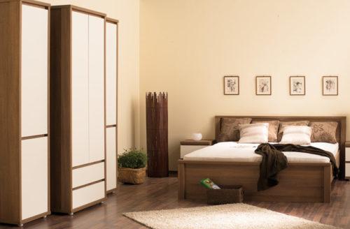 Free sonoma fehér hálószoba szekrény
