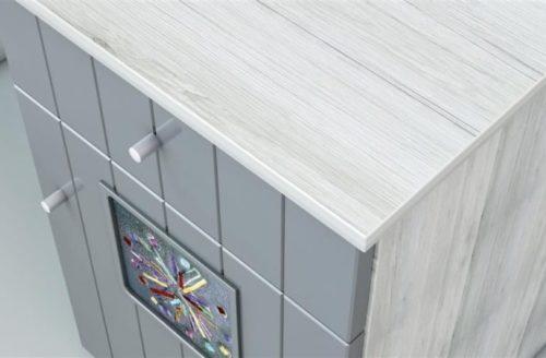 Kamilla polar szekrény komód