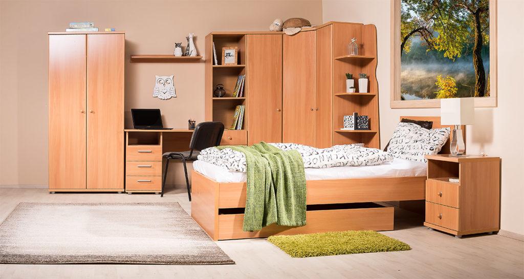 Mozaik nappali és hálószoba bútorcsalád