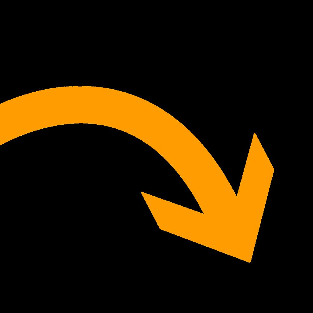 narancssárga nyíl