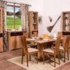River étkező garnitúra asztal székek