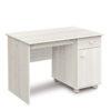 íróasztal fehér fenyőből