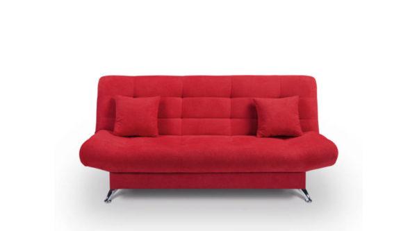 Verona kanapé piros színben