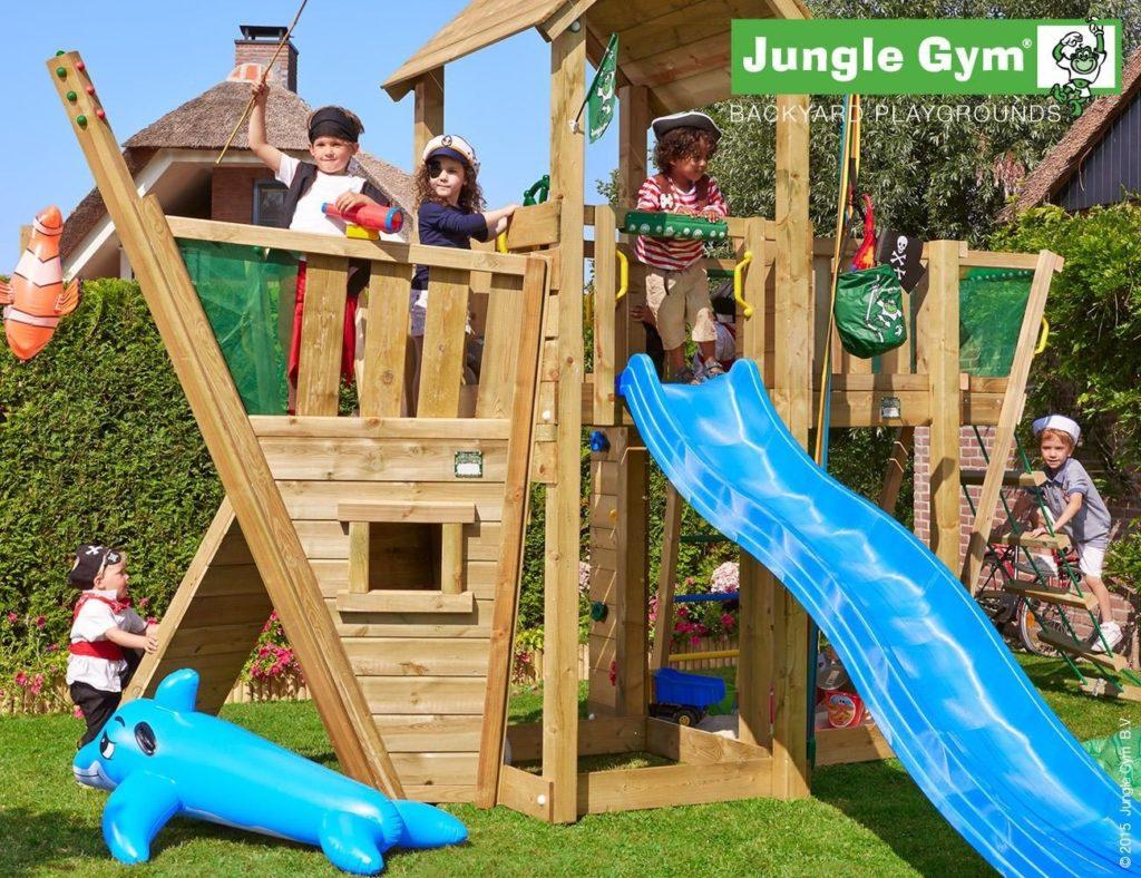 Jungle Gym kerti játszótér Boat modul