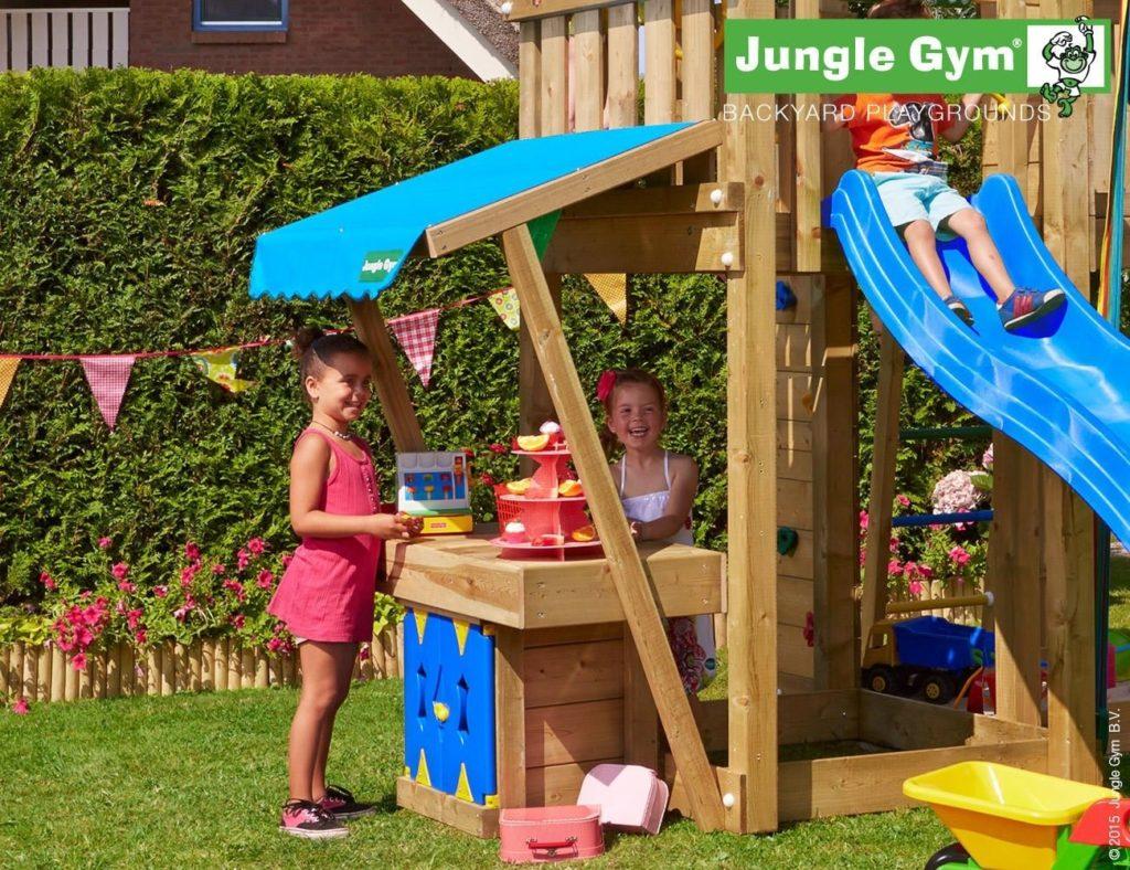 Jungle Gym kerti játszótér Mini Market modul