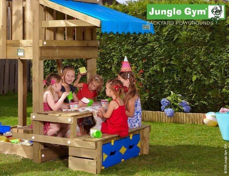 Jungle Gym kerti játszótér Picnic modul
