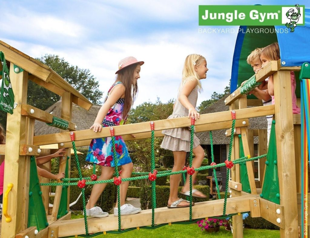 Jungle Gym kerti játszótér Net Link modul