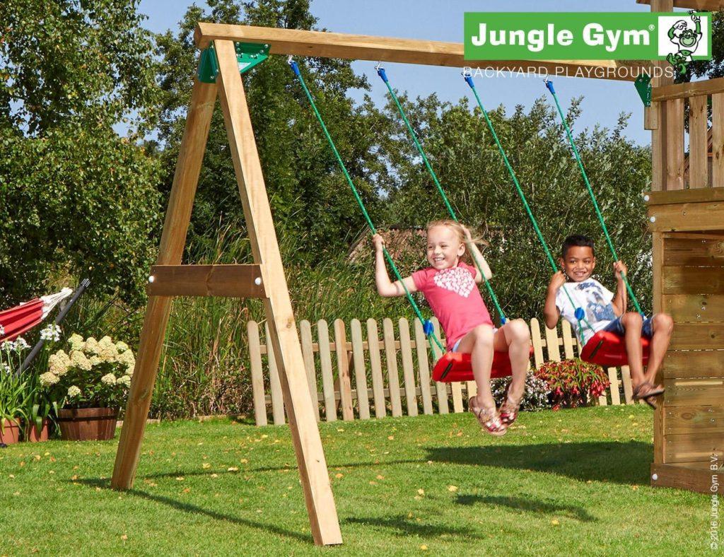 Jungle Gym kerti játszótér hinta modul