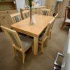 Bella bükk tömörfa asztal székek