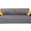sötétszürke kanapé