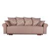 elegáns bézs kanapé