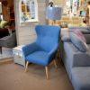 Cotto kék fotel facentrum
