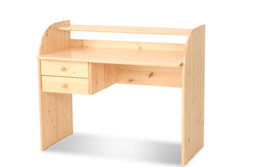 Andi 2 fiókos íróasztal fenyő
