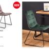 Bolivar asztal design székkel