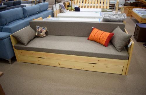 fenyő kanapéágy kihúzható