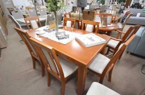 tömörfa étkezőasztal asztalos bútor