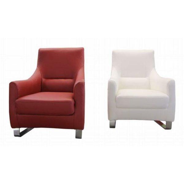 Rocco fotel piros fehér