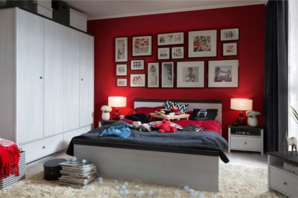 Black Red White Porto elemes bútorok