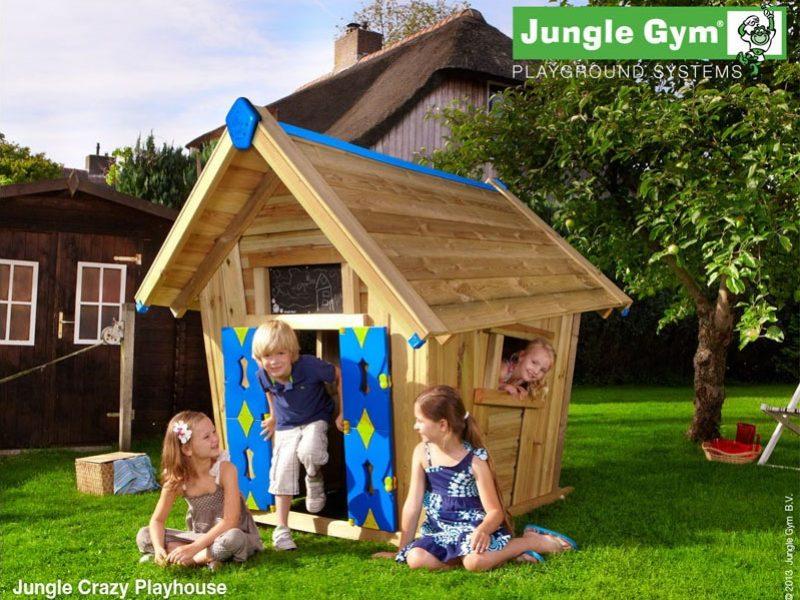 kerti fa játszóház Crazy playhouse
