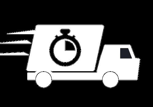 kiszállítás ikon
